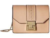 Ivanka Trump Hopewell Chain Crossbody Nude Lasercut Cross Body Handbags Beige