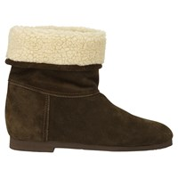 Jigsaw Livvy Ankle Boots Olive