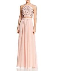 Decode 1.8 Embellished Two Piece Dress Blush