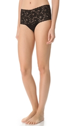 Hanky Panky Signature Lace Retro Thong Black