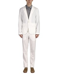 Ann Demeulemeester Suits White