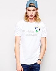 Worn By World In Motion T Shirt White
