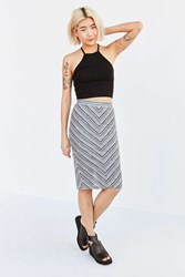 Silence And Noise Silence Noise Milly Multi Midi Skirt Novelty
