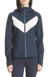 Tory Sport All Weather Run Jacket Tory Navy White Snow