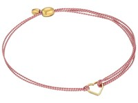 Alex And Ani Kindred Cord Red Heart Dark Pink Bracelet Rafaelian Gold Bracelet