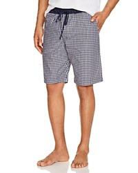 Hanro Night And Day Woven Lounge Shorts Black Check
