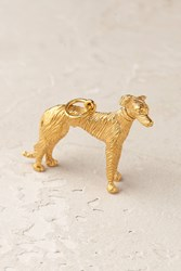 Mirabelle Playful Pooch Charm Gold