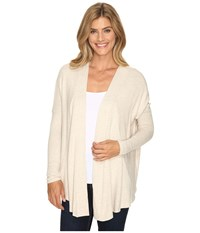 B Collection By Bobeau Syden Relaxed Cardi Oatmeal Women's Sweater Brown