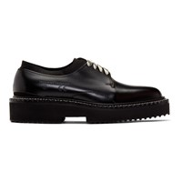 Oamc Black Cut Oxfords
