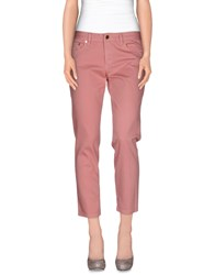 Tory Burch Denim Denim Trousers Women Pastel Pink