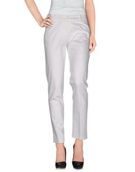 P.A.R.O.S.H. Trousers Casual Trousers Women White