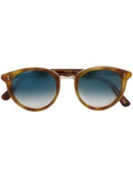 Oliver Peoples 'Spelman' Limited Edition Sunglasses Brown