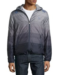Original Penguin Padded Wind Resistant Jacket Gray
