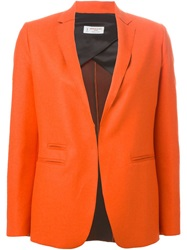 Alberto Biani Blazer Jacket Yellow And Orange