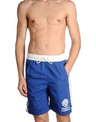 Franklin And Marshall Swimming Trunks Blue