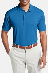 Men's Cutter And Buck 'Genre' Drytec Moisture Wicking Polo Gala Blue