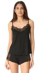 Only Hearts Club Venice Low Back Cami Black