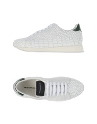 Kris Van Assche Krisvanassche Footwear Low Tops And Trainers Men White