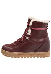 Aigle Laponwarm Ankle Boots Erable Red