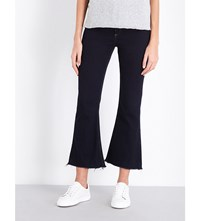 Rag And Bone Crop Flare Mide Rise Jeans Dune