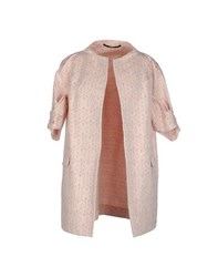 Maurizio Pecoraro Coats And Jackets Full Length Jackets Women Light Pink