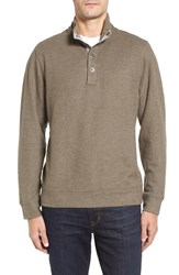Tommy Bahama Men's Cold Springs Mock Neck Sweater Italian Plum