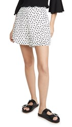 The Fifth Label Kaleidoscope Shorts Ivory Black Floral