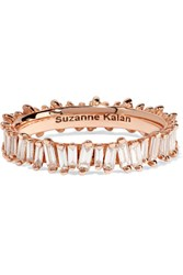 Suzanne Kalan 18 Karat Rose Gold Diamond Ring