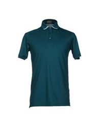 Cruciani Polo Shirts Green