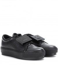 Acne Studios Adriana Leather Sneakers Black