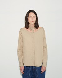 Aalto Cut Out Shirt Beige