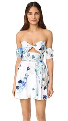6 Shore Road Day Break Dress White Colombia Floral