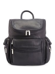 Royce Executive Handcrafted Laptop Backpack Black