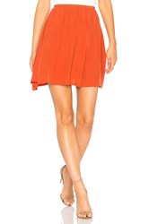 American Vintage Comenutt Skirt Burnt Orange