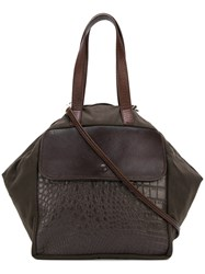 Carmina Campus Swatch Tote Brown