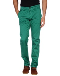 Velour Casual Pants Green
