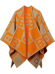 Burberry B Motif Knitted Cape 60