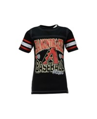5Th And Ocean Girls' Short Sleeve Arizona Diamondbacks Xoxo T Shirt