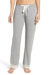 Flora Nikrooz Women's Snuggle Lounge Pants Heather Grey