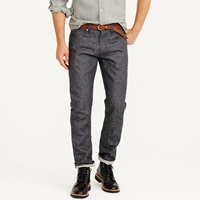J.Crew Wallace And Barnes Slim Grey Selvedge Jean