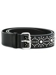 Dsquared2 Japanese Star Studded Belt Black
