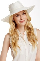 Flora Bella Margarite Toyo Braided Paper Straw Hat White