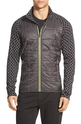 Men's Smartwool 'Phd Propulsion 60' Water Resistant Jacket Graphite