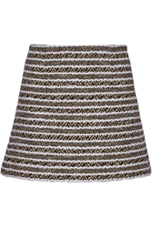 Thakoon Cotton Blend Tweed Mini Skirt