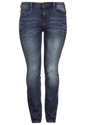 Triangle Slim Fit Jeans Blue Dark Gray