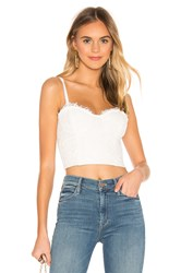 Cami Nyc The Scarlett Crop Top White