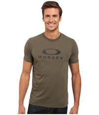 Oakley O Pinnacle Hydrolix Tee Dark Brush Men's T Shirt Blue