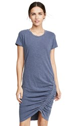 Sundry Ruched Tee Dress Pigment Shadow