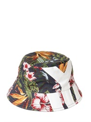Y 3 Floral Printed Cotton Twill Hat