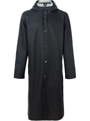 Stutterheim Long 'Stockholm' Raincoat Black